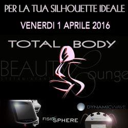 TOTAL BODY - APRILE 2016