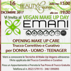 OPENING MAKE-UP VEGAN CARE EMANI