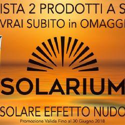 "PROMO ""SOLARIUM"" GIUGNO 2018"